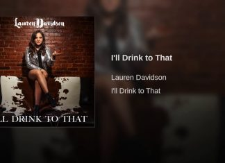 lauren davidson,i'll drink to that,single,new single,drink to that