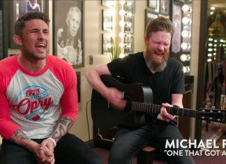 michael ray,one that got away,performs,nashville's newest,acoustic